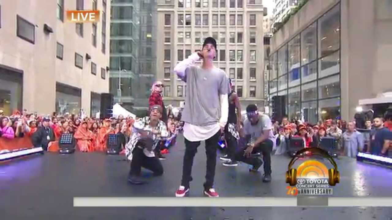 Justin Bieber Live on Today Show