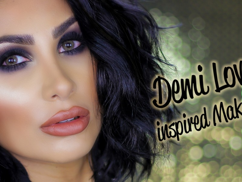 Demi Lovato Inspired Makeup Tutorial