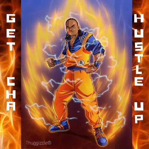 Thuggizzle-GetChaHustleUp-Artwork